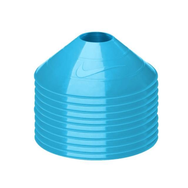 【NIKE】碟形訓練用具-足球 田徑 直排輪 健身 十入(天空藍)