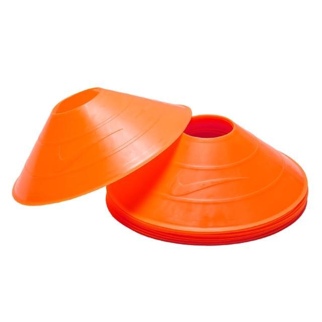 【NIKE】碟形訓練用具-足球 田徑 直排輪 健身 十入(螢光橘)