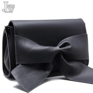 【JW】梅莉莎異想蝴蝶結掀蓋磁釦肩側包(共2色)