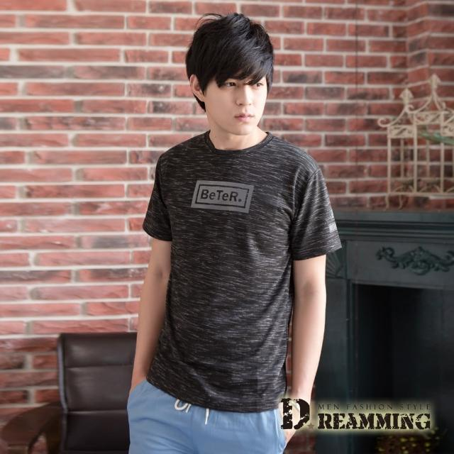 【Dreamming】混色韓風BeTeR時尚休閒圓領短T(共三色)