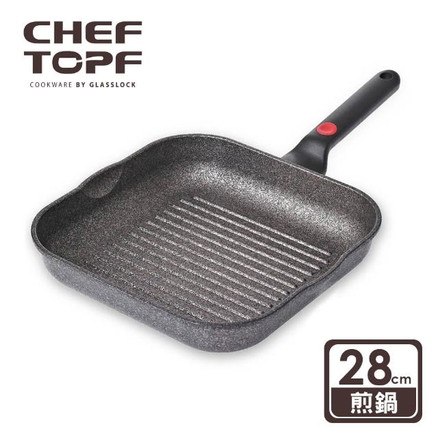 【韓國 Chef Topf】崗石系列耐磨不沾煎鍋(28 公分)