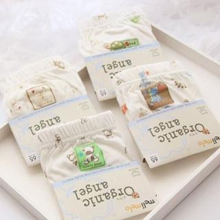 【JoyNa】韓國進口有機棉兒童三角內褲女童/男童(3入組)