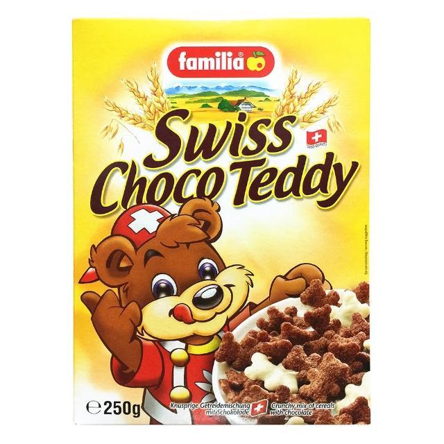【Familia】瑞士全家小熊巧克力玉米夾心脆片(來自瑞士的天然穀物)
