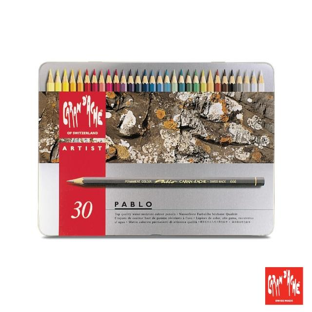 【CARAN d'ACHE】專業系列 油性色鉛筆30色(原廠正貨)