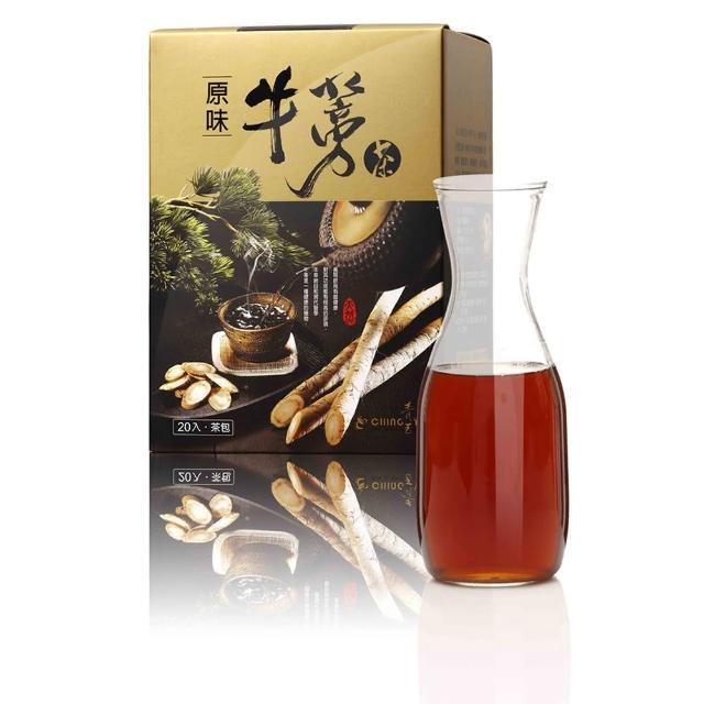 【青玉牛蒡茶】原味牛蒡茶包(15gX20入/盒)