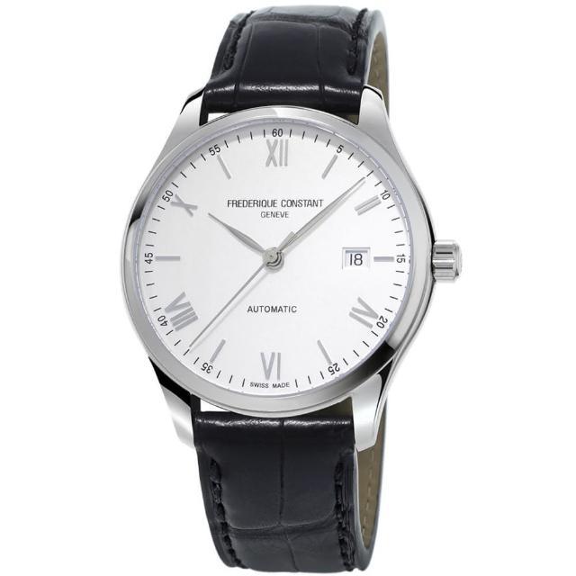 【CONSTANT 康斯登】高雅經典時尚男仕機械腕錶(FC-303SN5B6)