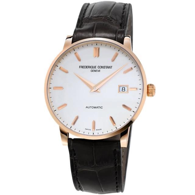 【康斯登 CONSTANT】CLASSICS百年經典系列INDEX腕錶(FC-316V5B9)