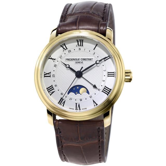 【康斯登 CONSTANT】CLASSICS百年經典系列月相腕錶(FC-330MC4P5)