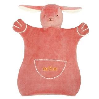 【美國miYim】有機棉手偶安撫巾(邦妮兔兔)