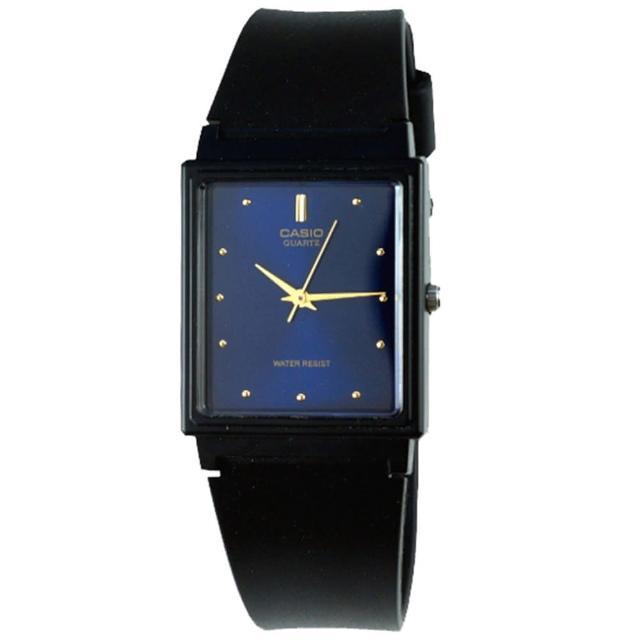 【CASIO】時尚簡約方款腕錶(MQ-38-2A)