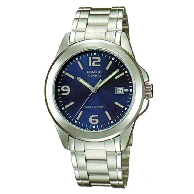 【CASIO】時尚新風格都會指針腕錶(MTP-1215A-2A)