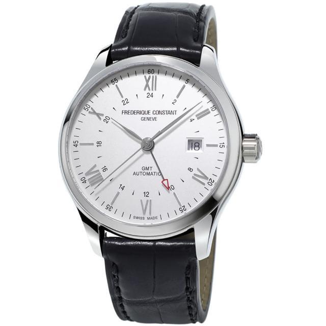 【康斯登 CONSTANT】CLASSICS百年經典系列INDEX世界時區腕錶(FC-350S5B6)