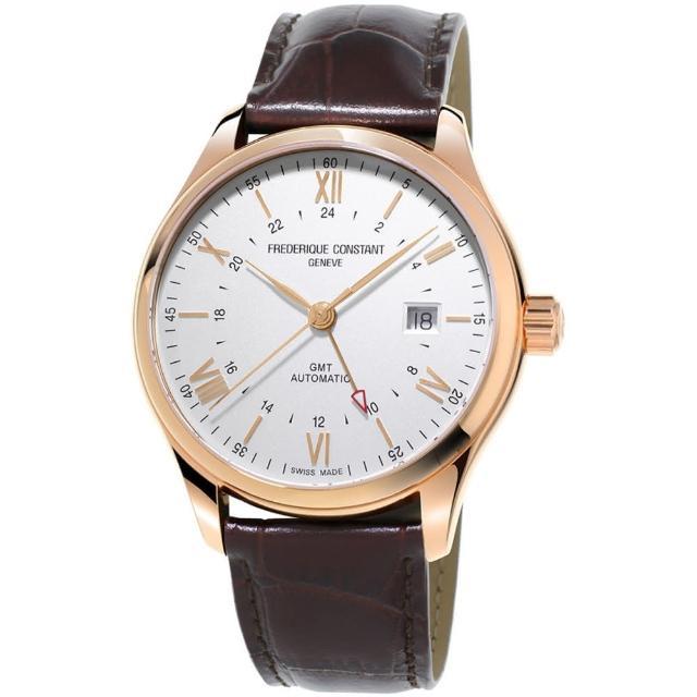 【康斯登 CONSTANT】CLASSICS百年經典系列INDEX世界時區腕錶(FC-350V5B4)