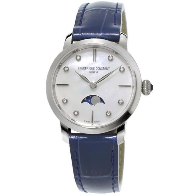 【康斯登 CONSTANT】SLIMLINE超薄系列月相女腕錶(FC-206MPWD1S6)