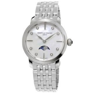 【康斯登 CONSTANT】SLIMLINE超薄系列月相女腕錶(FC-206MPWD1S6B)