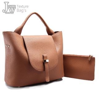 【JW】伊莉莎白簡約大容量側背提包(共6色)