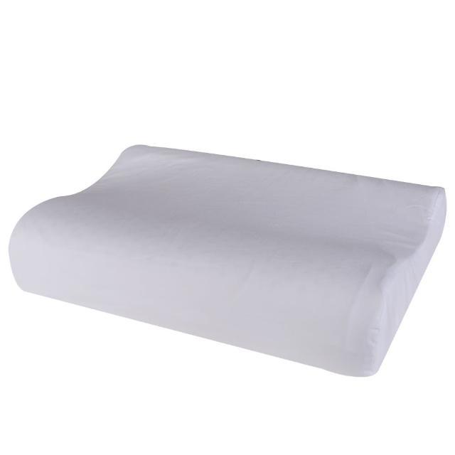 【HOLA】HOLA home 馬來西亞天然乳膠枕曲線型H13CM