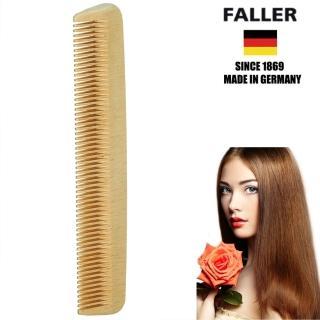 【德國FALLER芙樂梳具刷具】德國製 木齒梳 防靜電柔順直髮(FSC優質木材 方便隨身攜帶)
