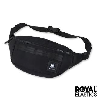【Royal Elastics】Knight闇黑騎士系列 - 半月型腰/胸包 - 黑色