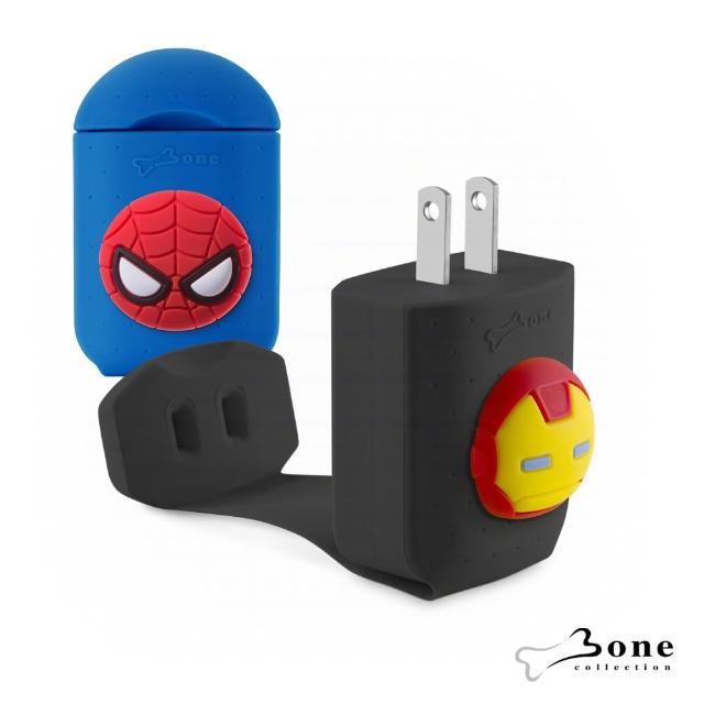 【Bone】智能快速充電器 - 鋼鐵人 / 蜘蛛人(漫威授權 Marvel 造型充電器)