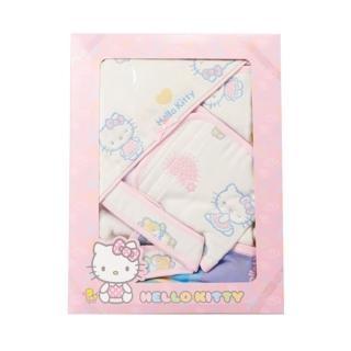 【HELLO KITTY】六層紗禮盒組(包巾+小肚圍)