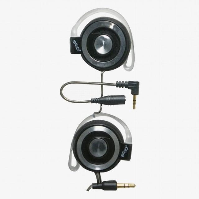 【BSD】立體聲轉接線耳掛式耳機(SP-767)
