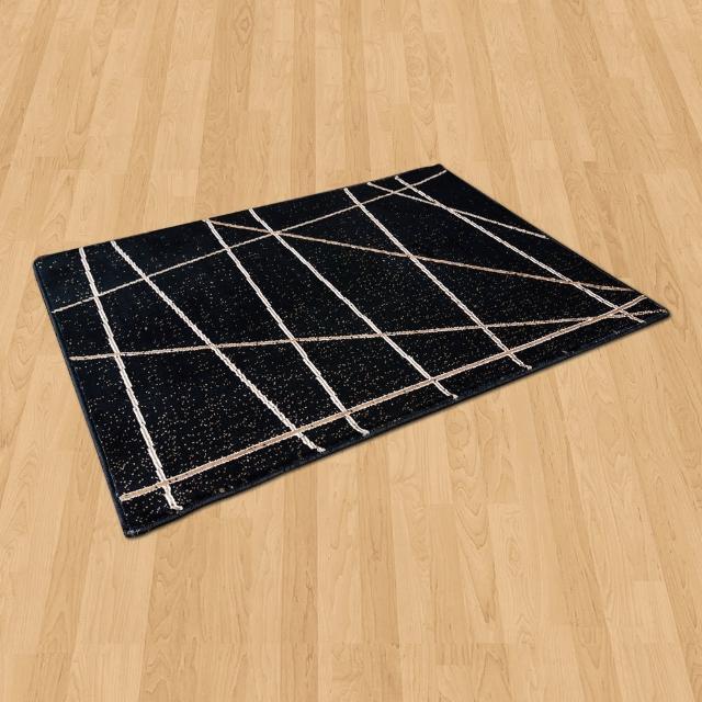 【Ambience】比利時Palmas 玄關/床邊 絲光地毯(光影 68x110cm)