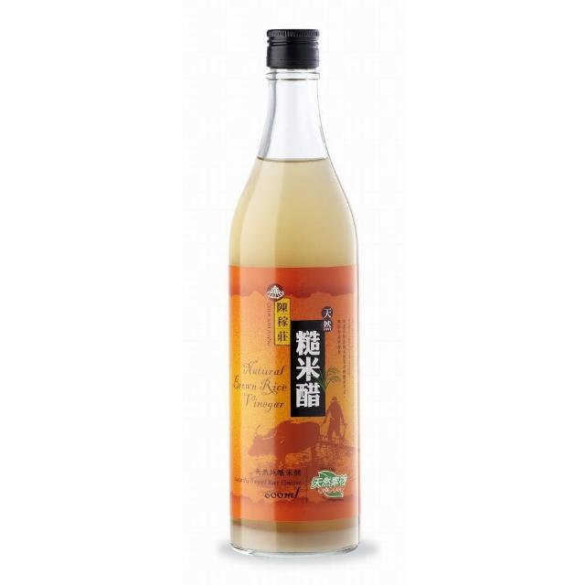 【義昌生技】陳稼莊糙米醋/600ml(糙米醋)