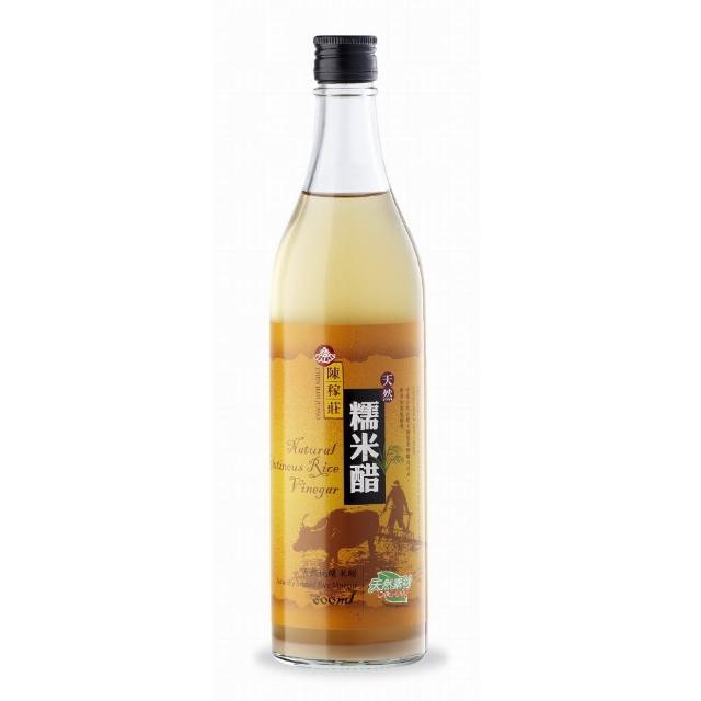 【義昌生技】陳稼莊糯米醋/600ml(糯米醋)