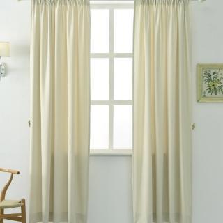 【伊美居】妮可絨布窗簾 130x165cm-2件