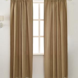 【伊美居】妮可絨布窗簾 130x230cm-2件
