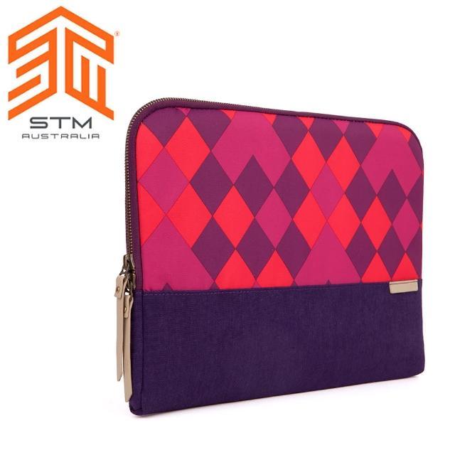 【澳洲 STM】Grace Sleeve 15吋(時尚菱格紋筆電袋 - 紫色)