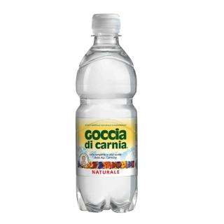 【即期品】Goccia di Carnia高地卡尼 天然礦泉水-寶特瓶 500ml(有效期限:2017/10/28)