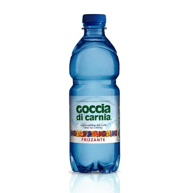【Goccia di Carnia高地卡尼】天然氣泡礦泉水-寶特瓶 500ml(氣泡礦泉水)