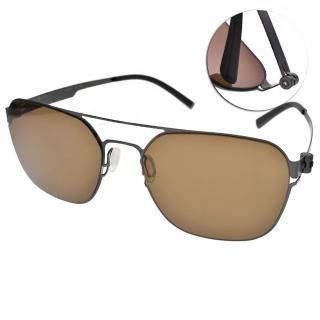 【VYCOZ 太陽眼鏡】薄鋼工藝經典眼鏡(槍-棕#ZICO GUN -GUN)