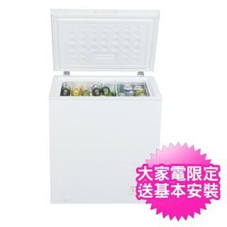 【Haier 海爾】142公升上掀密閉單門冷凍櫃(HCF-142)