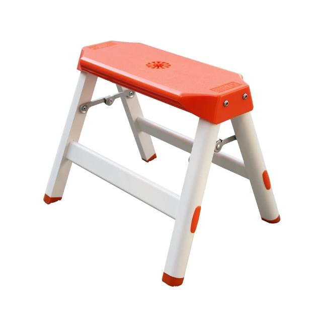 【巧登欣-鋁梯工坊】大阪舒適梯-椅凳1階(鋁梯 A梯 家用梯 設計梯)