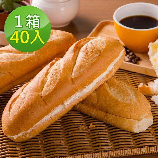 【分享烘焙】維也那牛奶麵包 120g(40條/箱)