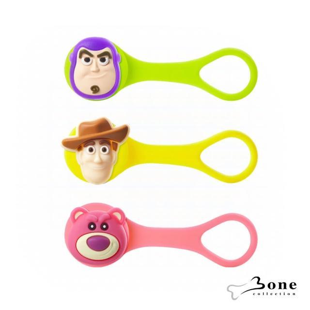 【Bone】逗扣Q束繩 - 胡迪 / 巴斯光年 / 熊抱哥(收線器 玩具總動員 迪士尼授權 無毒認證矽膠)