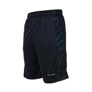 【FIRESTAR】男吸排籃球短褲-慢跑 路跑 五分褲 丈青(B7602-93)