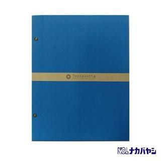 【日本 Nakabayashi】自黏相本 歐風系列 無酸相本(藍)
