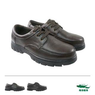 【母子鱷魚】綁帶簡約紳士休閒鞋