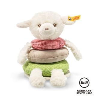 【STEIFF德國金耳釦泰迪熊】Happy Farm Lamb 甜甜圈羊(嬰幼兒安撫玩偶)