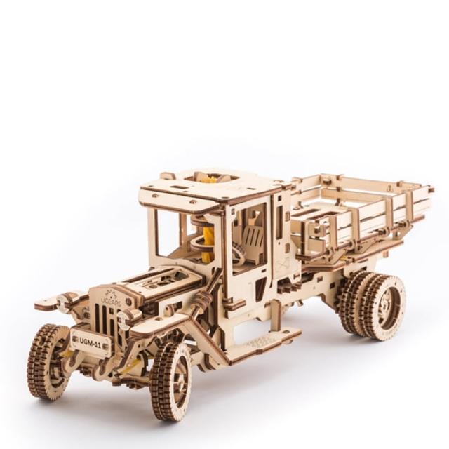 【Ugears】烏克蘭-自我推進模型(四輪驅動卡車)
