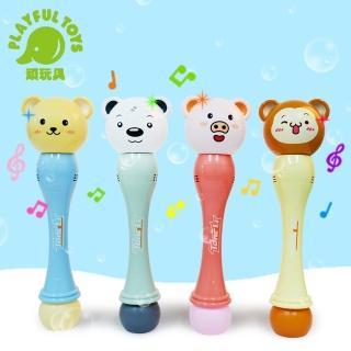 【Playful Toys】電動音樂海豚泡泡槍 電動泡泡槍(泡泡槍 夏日必備 製造浪漫 戲水必備)