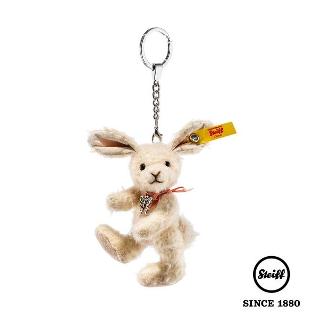 【STEIFF德國金耳釦泰迪熊】Pendant Tiny Rabbit 兔子(羊毛吊飾)