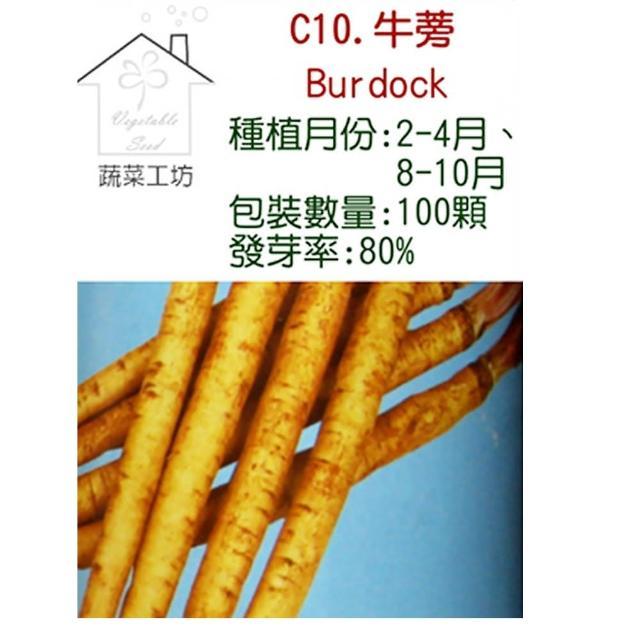 【蔬菜工坊】C10.牛蒡種子