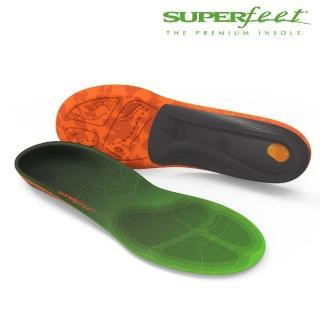 【美國SUPERfeet】碳纖維健行鞋墊(青綠色)