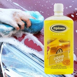 【CarPlan卡派爾】Tirplewax Liquid Gold 自乾型液態黃金洗車精