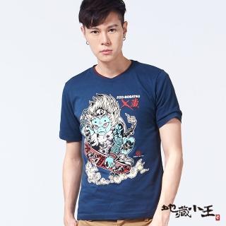 【BLUEWAY-地藏小王】地藏刺青滑板短TEE